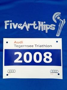 Startnummer Audi-Tegernsee-Triathlon 2012