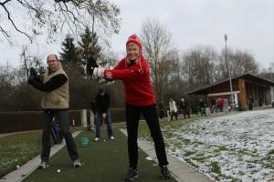Carving Golf im Winter - Foto: Thomas Wenning