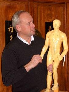 Dr. Kaupe mit 'Alexander'